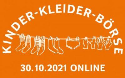 Kinderkleiderbörse – online am 30.10.2021